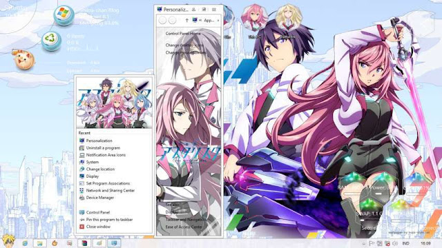 Windows 8.1 Theme Gakusen Toshi Astrisk by Bashkara