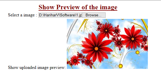Satya Tutorial: How to show preview Image before Upload