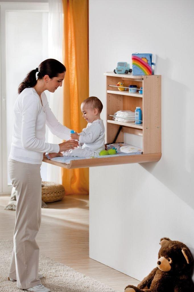 wickeltisch klappbar test die besten wickelregale zur wandmontage. Black Bedroom Furniture Sets. Home Design Ideas