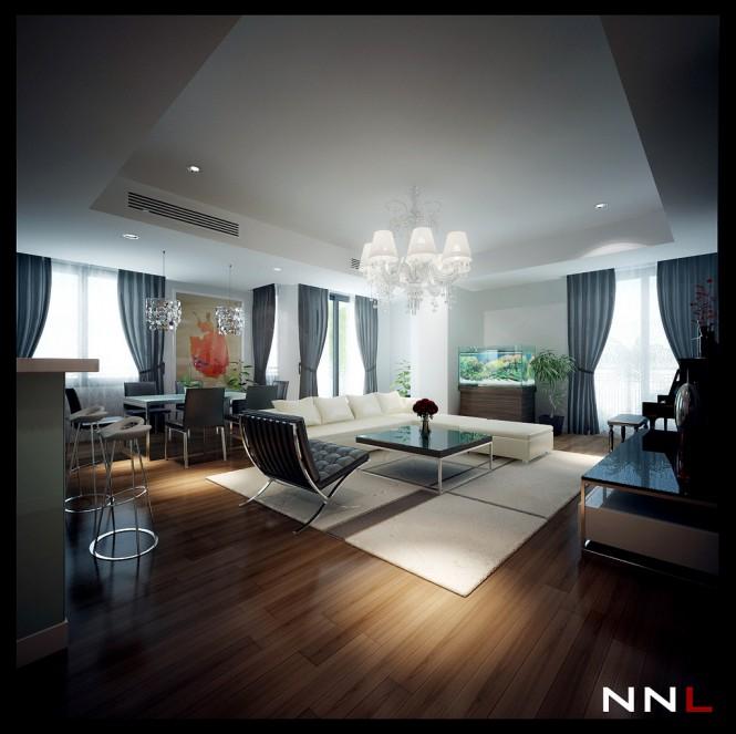 Contoh Desain Interior Terbaru Rumah Type 36 45 Minimalis ...