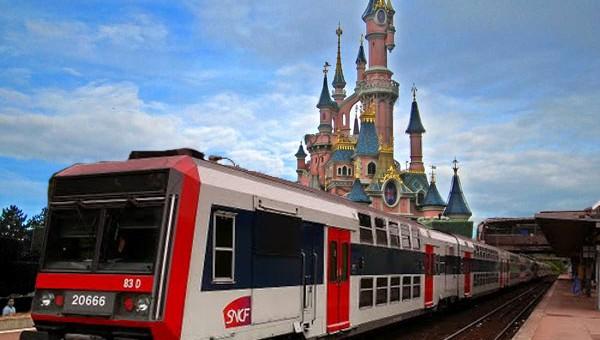 Como ir à Disneyland Paris de RER