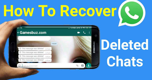 How To Recover and Read Deleted Chats On WhatsApp - 2 Simple Method