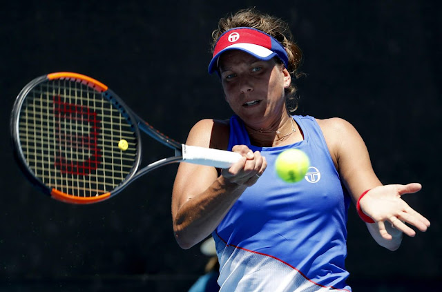 HD Photos of Barbora Strycova Australian Open Tennis Tournament 2018 Melbourne
