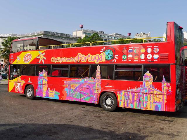 Lisbon Hop On Bus