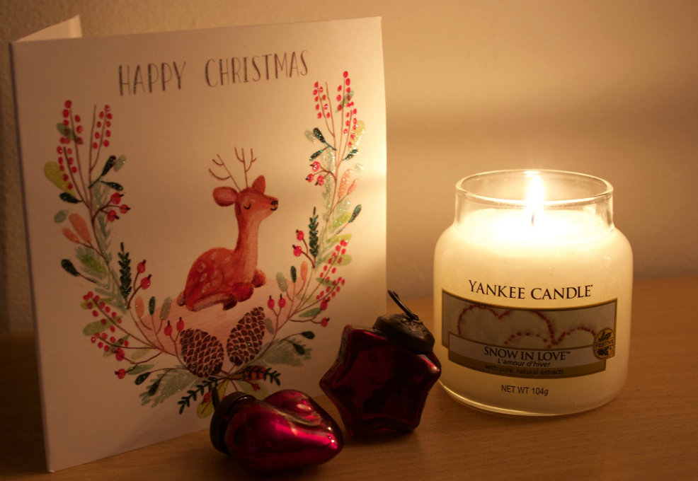 Yankee Candle Snow In Love Candle