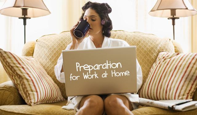 Bekerja di Rumah