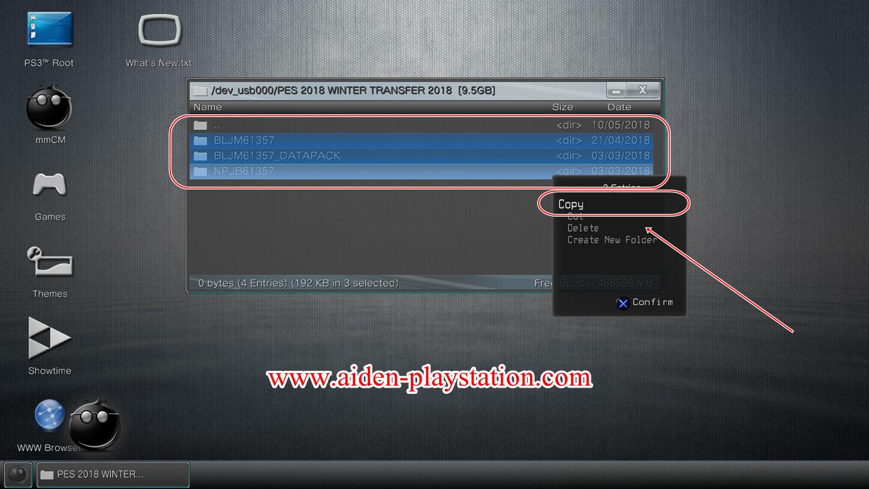 Aiden Playstation: CARA COPY GAME INJECT (EKSTRAK PKG) DARI HARDISK