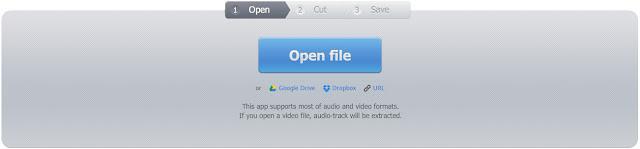 Image result for موقع Mp3cut لتقطيع ملفات الصوت أونلاين