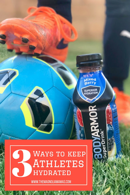 How to keep young athletes hydrated with the best sports drink. BODYARMOR is made with coconut water, and is a premium sports drink with vitamins without the artificial flavors or sweeteners.