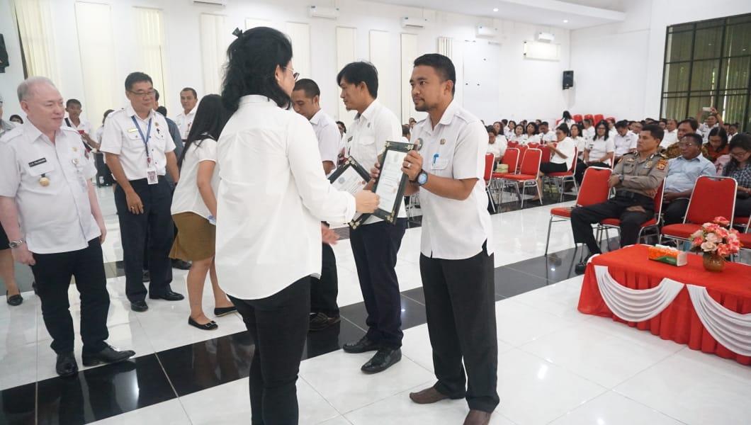 Tiga Kecamatan dan Kelurahan di Sitaro Raih Penghargaan Pelaksana Terbaik Musrenbang