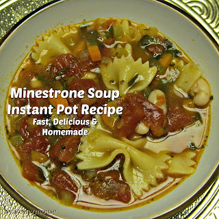 Minestrone Soup Recipe for the Instant Pot
