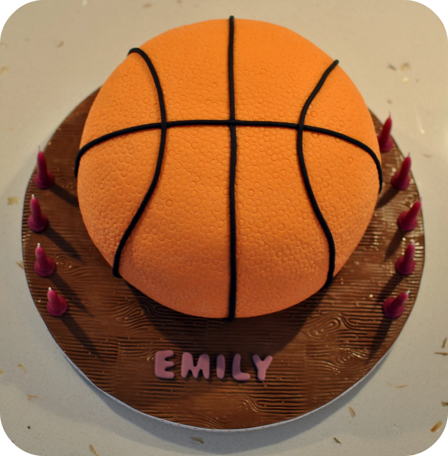 Taylor Made Baking Emily S Basketball Themed 9th Birthday