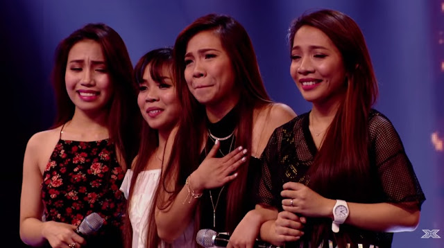 Pinay group 4th Power stuns judges