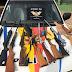 Polícia descobre arsenal de armas em Ceilândia