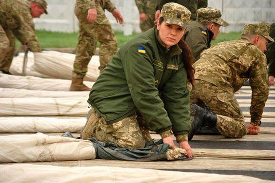 опис військовослужбовці-жінки в ЗС України