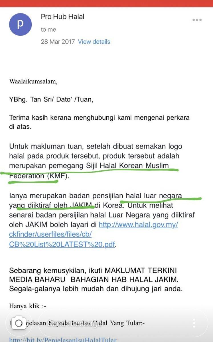 Status Ramen Samyang.. Halal atau Tidak? Ini Penjelasan JAKIM!