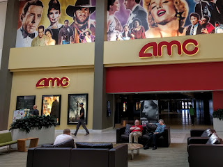 AMC Theater at Southdale Mall, Edina, MN, where we watched Sully