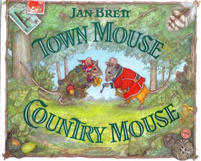 Town Mouse, Country Mouse, part of children's book review list about mice