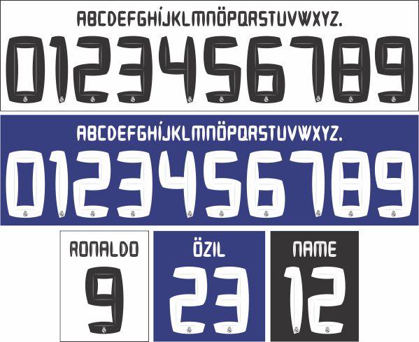 Real Madrid 2010-2011 tipografia 79c755945b988