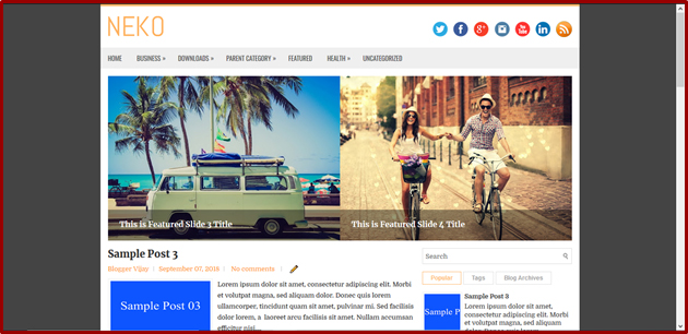 Lesson #9 | How to Customize Blogger Theme in Telugu 2