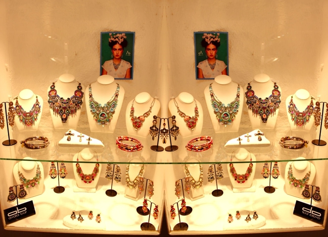 Ayala bar jewelry shop in Oia Santorini island