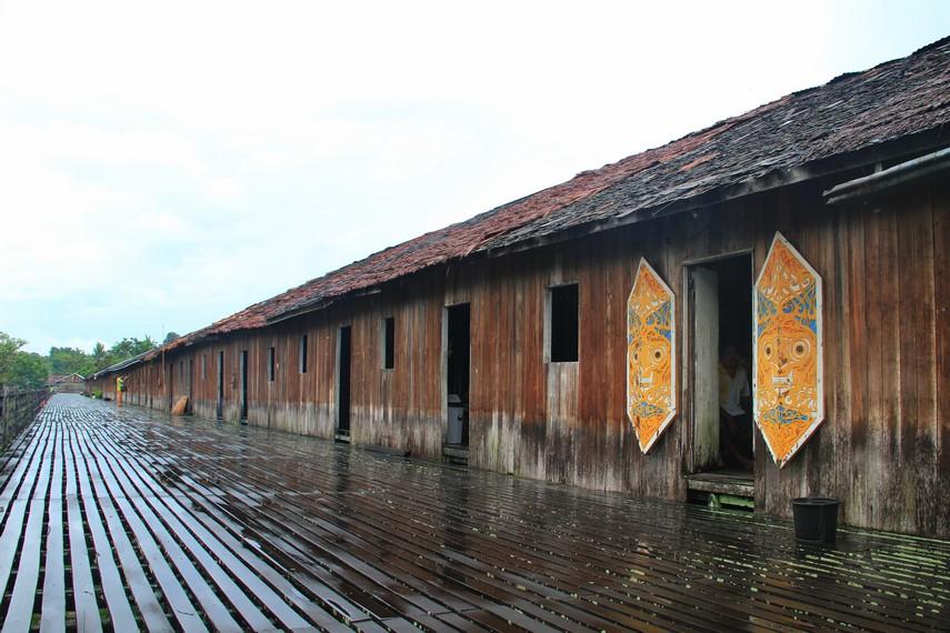 Rumah Betang, Rumah Tradisional Suku Dayak