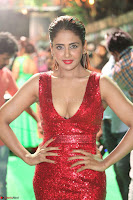 Parul Yadav in Sleeveless Deep Neck Red Gown at IIFA Utsavam Awards March 2017 056.JPG