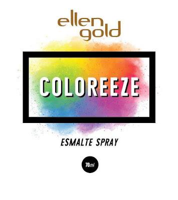 Esmalte em Spray da Ellen Gold