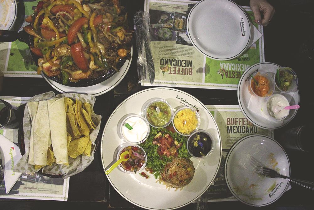 mesa restaurante mexicano