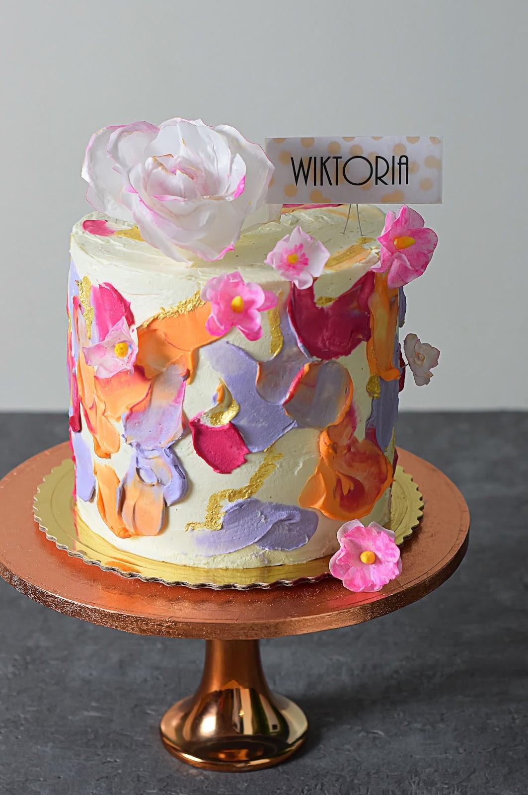 Tort Urodzinowy Z Kwiatkiem Kulinaria Zblogowani