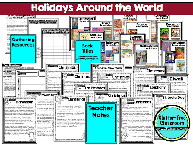 Holidays Around the World videos are a great way to experience the traditions of other countries or cultures. These short free videos feature Pere Noel, Old Befana and other telling stories and explaining Kwanzaa, Hanukkah, and the winter celebrations in France, Canada, England, Germany, and Italy. Watching these video, reading books & passages, making maps, suitcases, passports, crafts, scrapbooks, & postcards is perfect for first, second, third, fourth, & fifth grade & homeschool lesson plans.