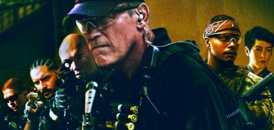 Arnold Schwarzenegger şi echipa DEA în filmul Sabotage