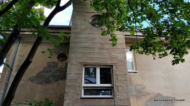 Warszawa Warsaw willa pałacyk architektura przedwojenna Mokotów architektura Mokotowa