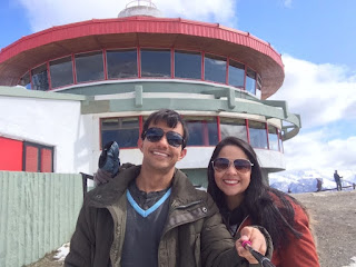 Confiteria Giratorio do Cerro Otto em Bariloche