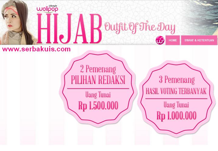 Kontes Foto Hijab Berhadiah Uang Tunai Total 6 JUTA