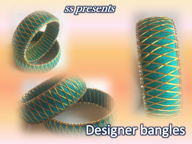 Here is silk thread bangles making,silk thread jewellery making,silk thread necklace,silk thread choker making,silk bridal jewellery making,silk thread ring making,silk thread hair clips making,how to make silk thread designer bangle making
