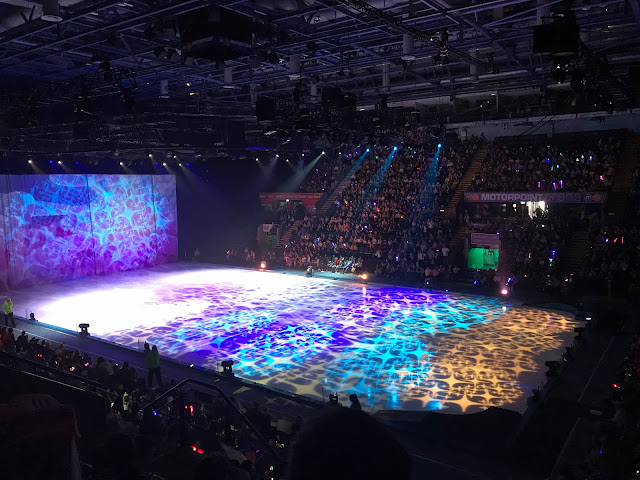 Amazing view of the stage at Disney on Ice Nottingham