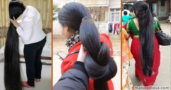 segredo das indianas para o cabelo crescer mais rápido