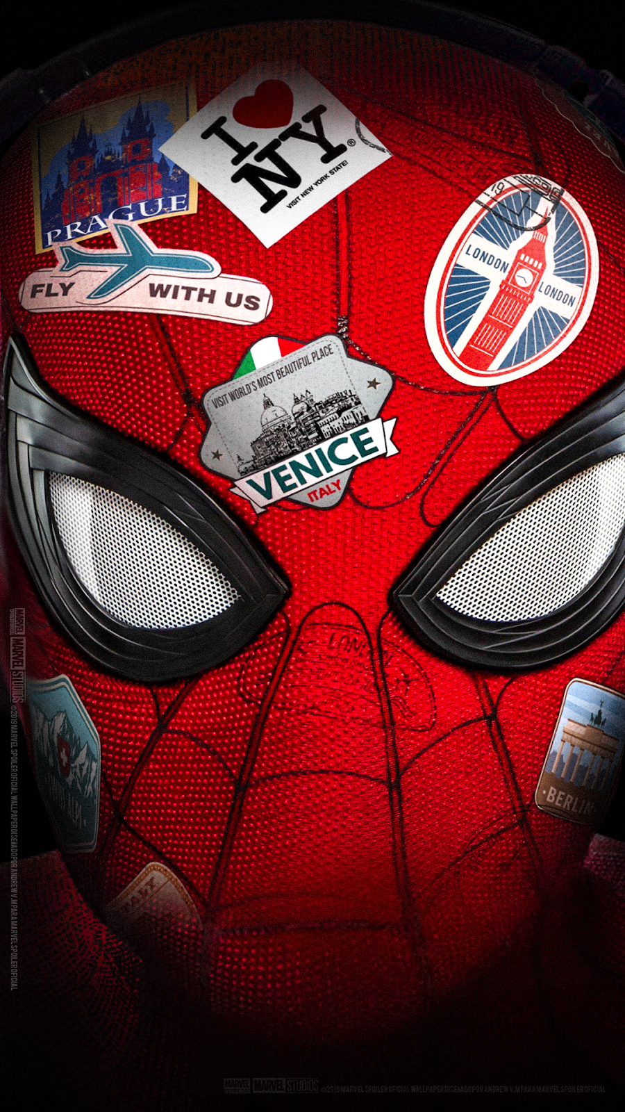 Marvel Spoiler Oficial Spider Man Far From Home Wallpaper