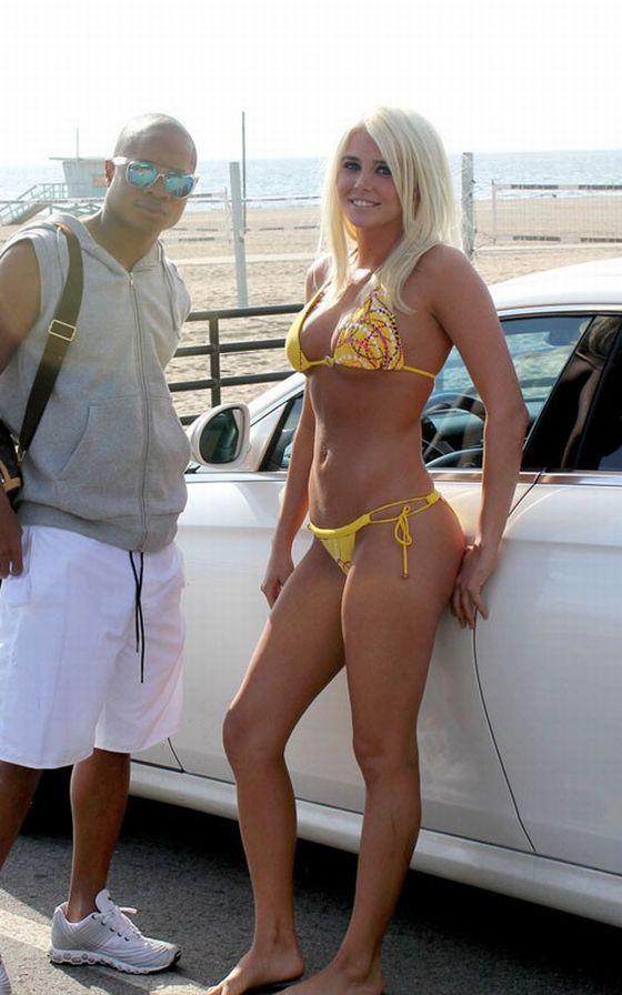 Shannon Yellow Bikini 74