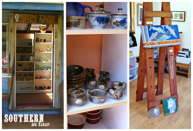 Norfolk Island Cottage Pottery and Gallery