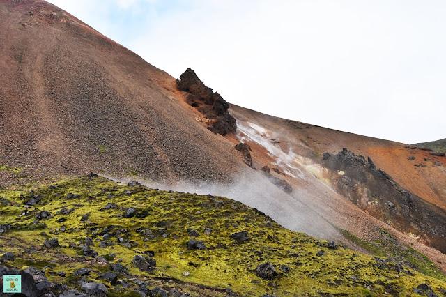 Monte Brennisteinsalda en Landamannalaugar, Islandia