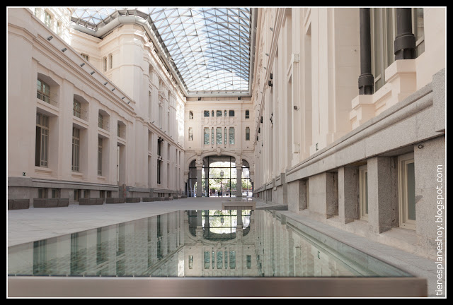 Galeria de Cristal del palacio de Cibeles