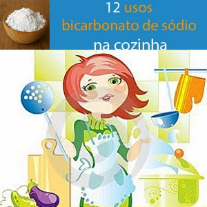 usos do bicarbonato na limpeza