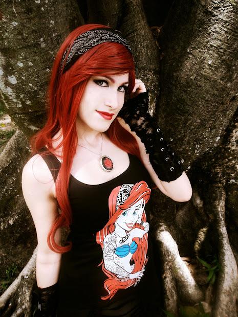 Enys Guerrero Happy Birthday Gothic Princess Ariel