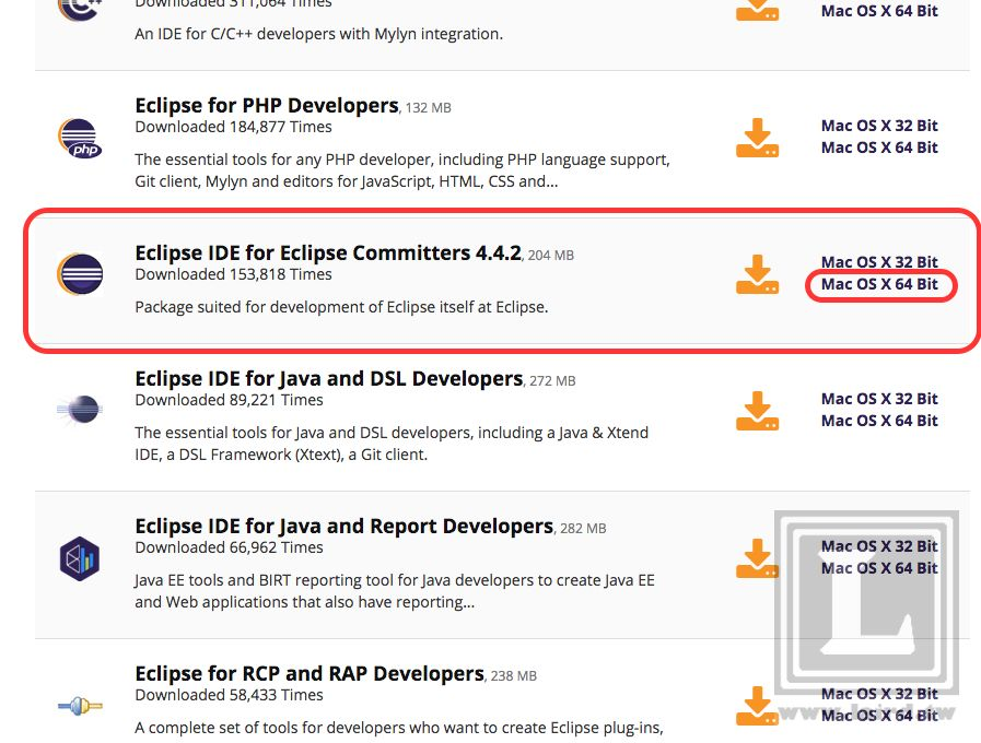 Eclipse ] [ Mac OS X ] 如何在Mac OS X 安裝Eclipse 開發環境( IDE