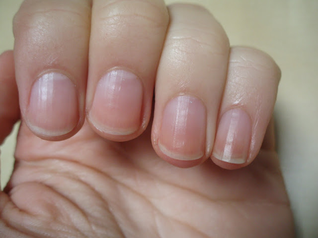Purple And White Natural Nails Health