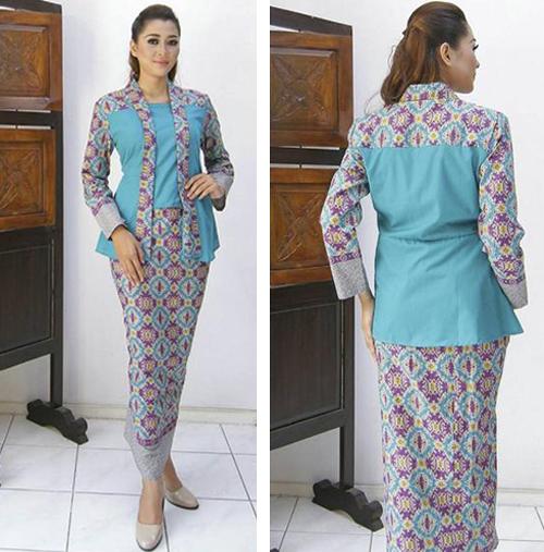 gambar model baju pramugari