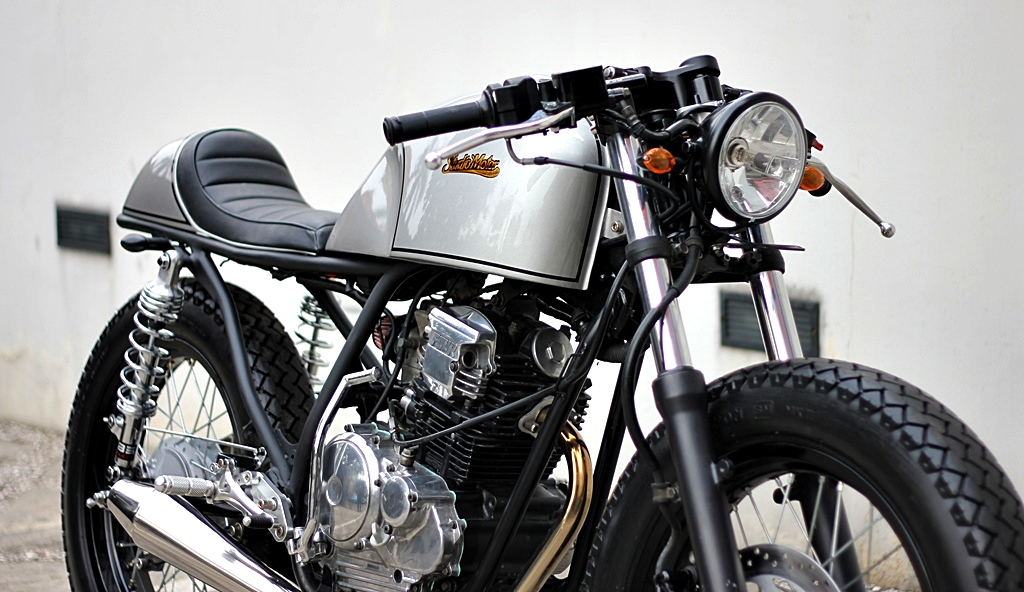 Yamaha Scorpio 225 2006 by Studio Motor :: via Racing Cafe