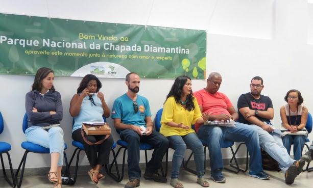 Chefe do PNCD, Soraya Martins, fala sobre a ocupação irregular do solo no entorno da Unidade de Conservação. (Foto: Divulgação)